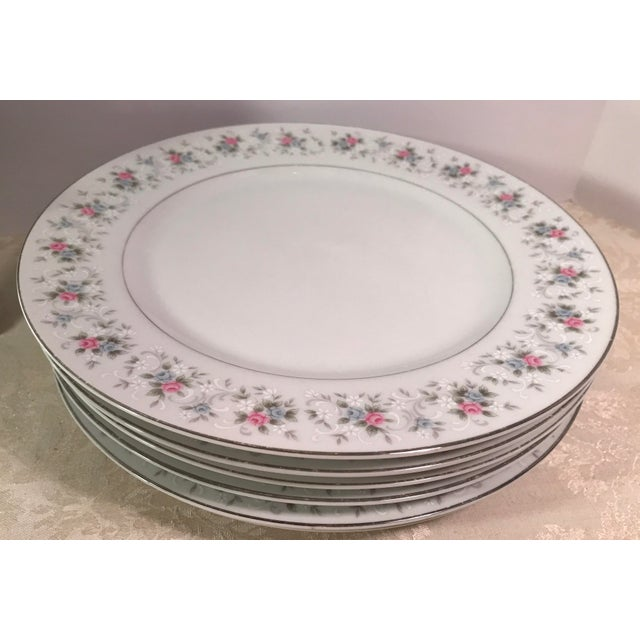 "Japanese China ""Corsage"" Dinner Plates - Set of 7 - Image 5 of 6"