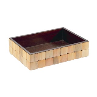Selamat Designs Pine Barclay Amenities Tray