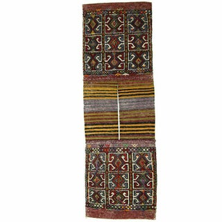 Vintage Turkish Cicim Saddlebag