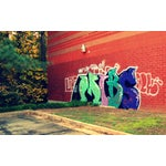 Image of 'Suburban Graffiti #2' Contemporary Photograph