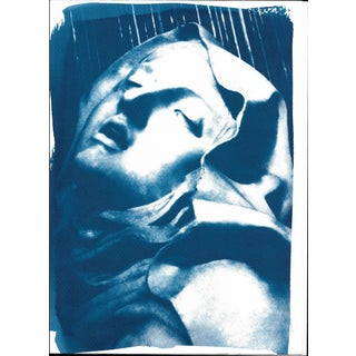 Cyanotype Print - Bernini Ecstasy of St. Teresa