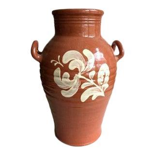Greenfield Village Redware Vase