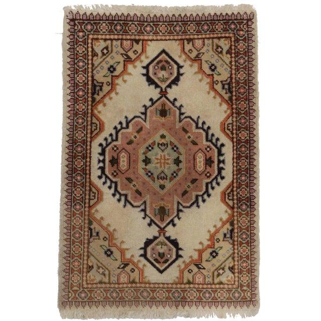 "RugsinDallas Antique Persian Tabriz Rug - 1′11″ × 2′ 10"" - Image 1 of 2"