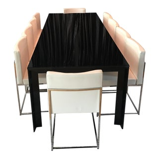 Ligne Roset Black Dining Table