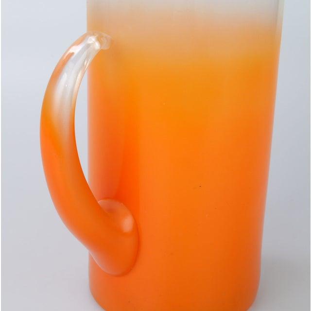 Orange Ombré Pitcher - Image 4 of 6