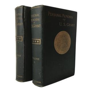 """Personal Memoirs of U.S. Grant"" 1885 Books - A Pair"