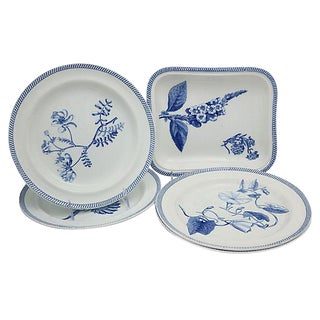 Antique Wedgwood Creamware Serving Set - 7 Pieces