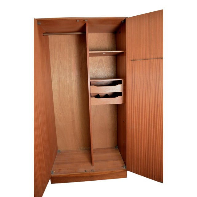 G Plan Mid Century Fresco Teak Wardrobe Armoire - Image 2 of 6