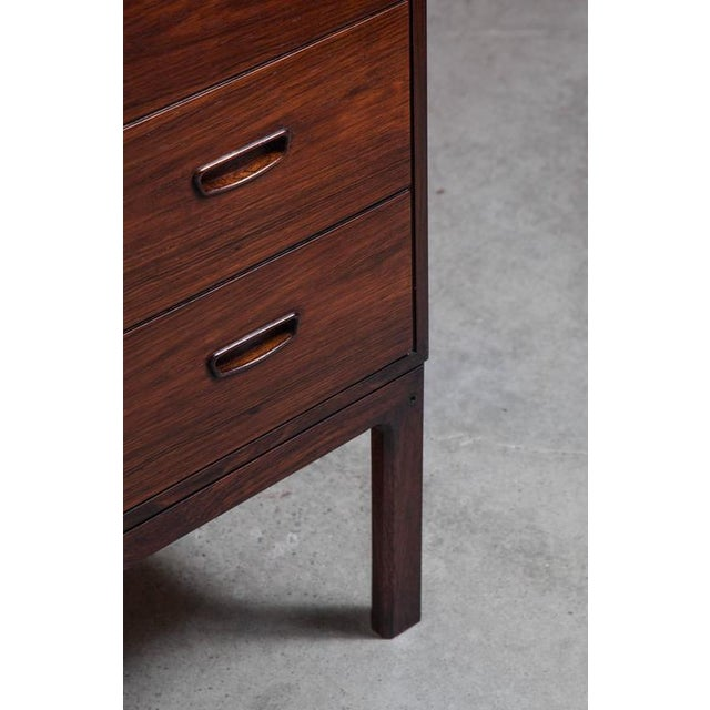 Danish Highboy Dresser Chest of Drawers - Image 4 of 5