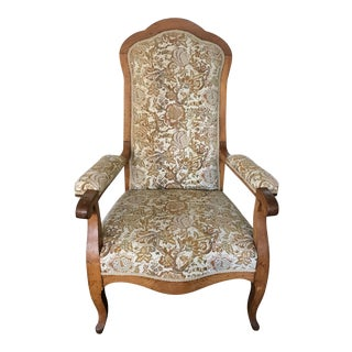 Antique French Country Bergere Chair