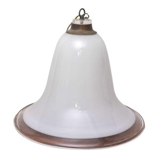 Murano Vintage Overhead Bank Lamp from 1940s Italy