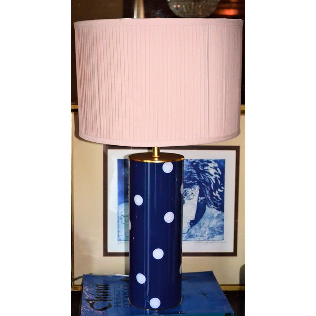 Image of Kate Spade Blue Dot Table Lamp