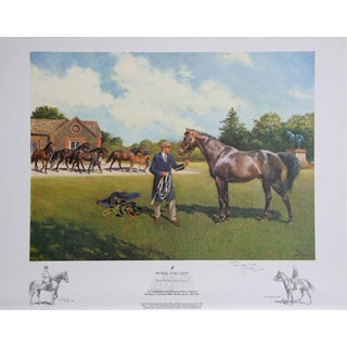 "Terence Cuneo ""Royal Stallion"" Offset Lithograph"
