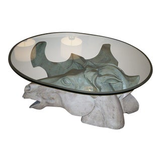 Impressive Oversized Horse Head Coffee Table by Romeo Tamanti