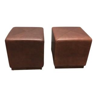 Nexus Leather Cubes - Pair