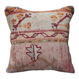 Vintage Turkish Oushak Pillow
