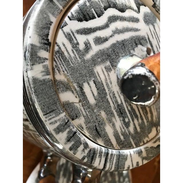 1930s Arthur Wood Silver Shield Teapot - Image 6 of 11