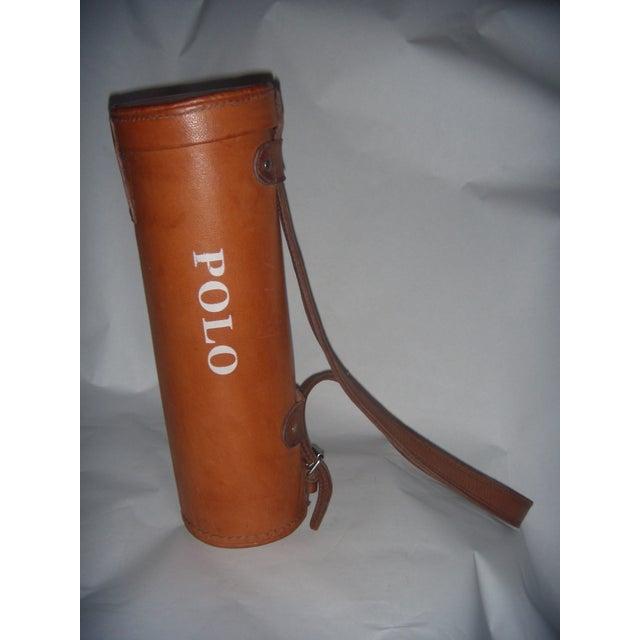 Leather Polo Balls Bag - Image 3 of 6
