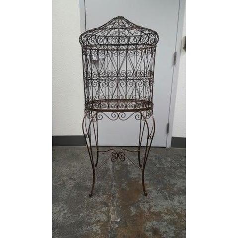 Decorative Iron Bird Cage - Image 2 of 10