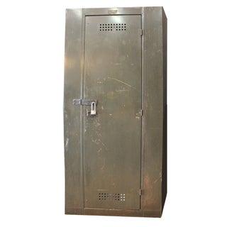 Vintage Industrial Berloy Factory Cabinet Locker
