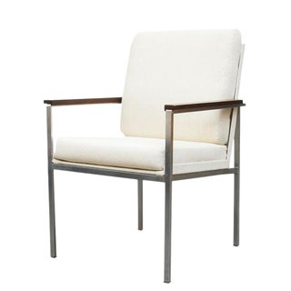 A. R. Cordemeijer Gispen White Arm Chair