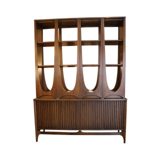 Broyhill Vintage 'Brasilia' Two-Piece Room Divider
