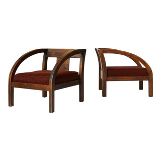 """A pair of Paul Frankl """"D"""" Chairs"""