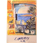 Image of Picasso Cannes Exhibition Poster 1994