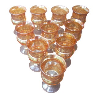 Carnival Glasses - Set of 10