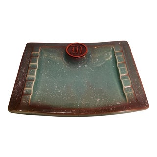 Mid-Century Roseville Hyde Park Ashtray