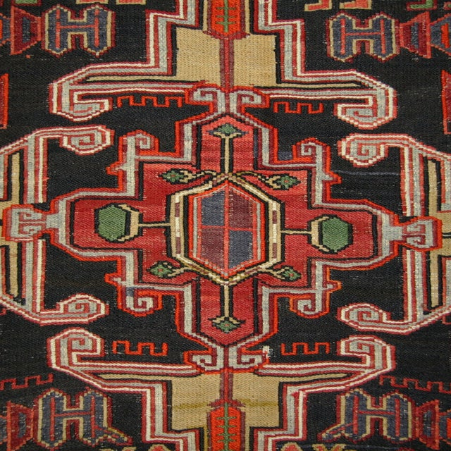 Image of Cicim Sofreh Vintage Cicim Kilim - 4' x 5'5