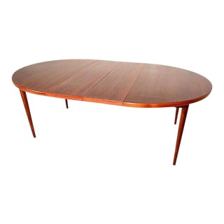 Scandinavian Modern Swedish Oval Dining Table