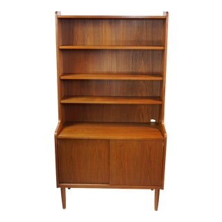 Danish Modern Storage Bookcase