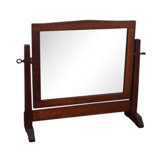 Stickley Antique Mission Oak Shaving Mirror
