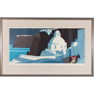 Lars Norrman Greece Lithograph