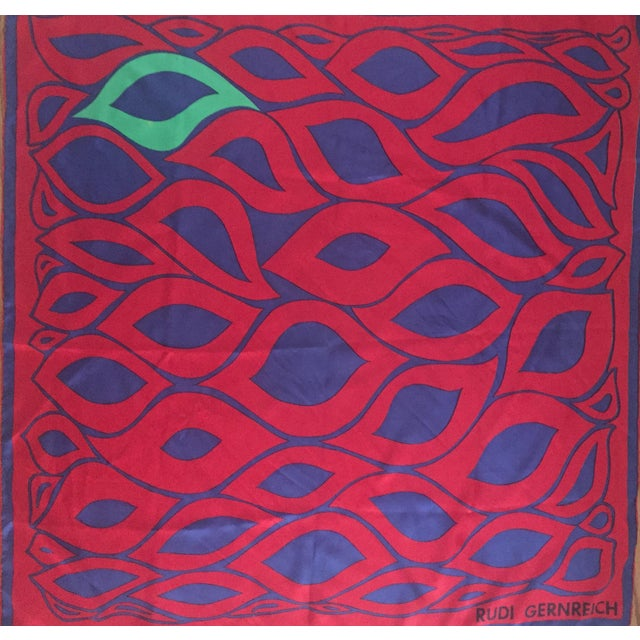 Designer Rudi Gernreich Silk Scarf - Image 3 of 7