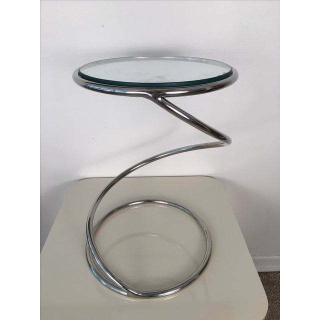 Image of Leon Rosen for Pace Spiral Side Table