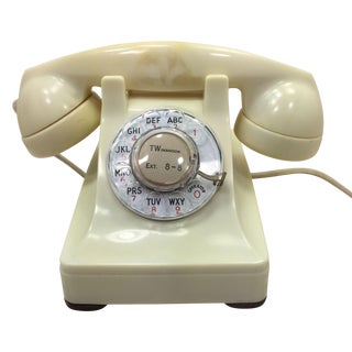 Western Electric 1953 Ivory 302 Telephone
