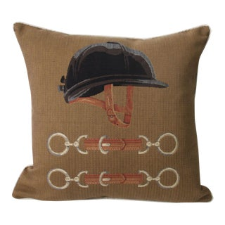 Equestrian Tapestry Pillow Cover