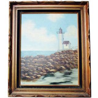 California Lighthouse Painting