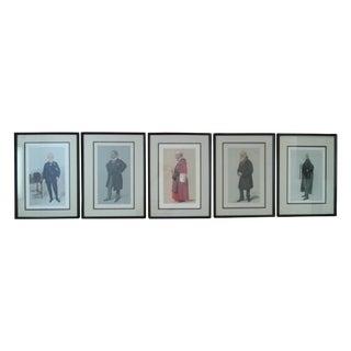 "Vanity Fair ""Spy"" Lithographs - Set of 5"