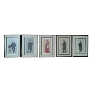 "Vanity Fair ""Spy"" Lithographs - Set of 5"
