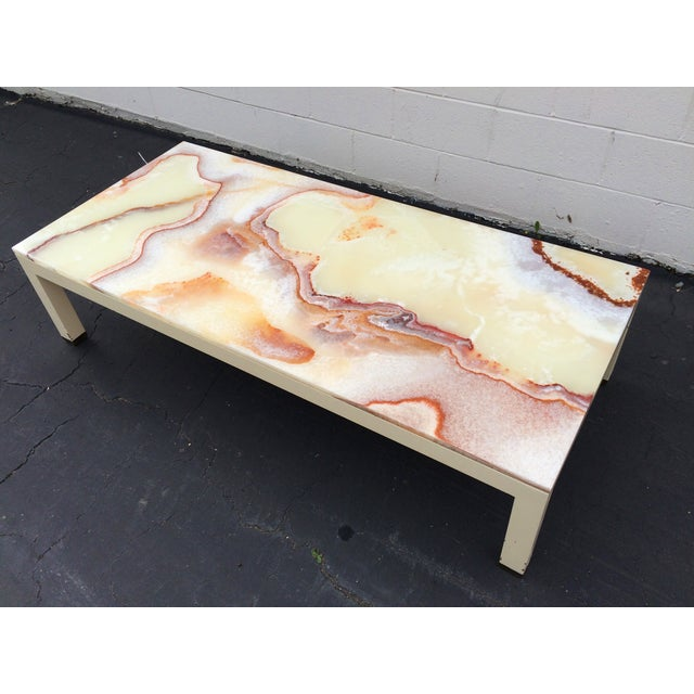 Onyx Parsons Coffee Table - Image 4 of 11
