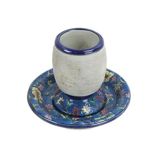 French Cafe Flowered Ceramic Match Striker