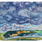 Image of Vintage Landscape Oil Painting