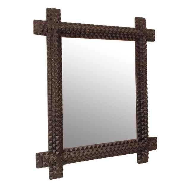 Tramp Art Mirror - Image 2 of 7