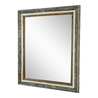 Ornate Framed Beveled Mirror