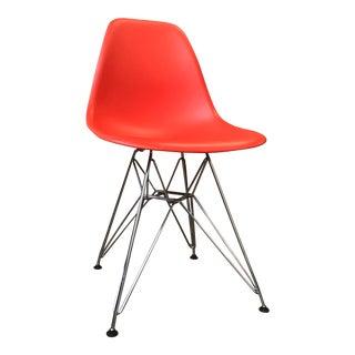 Eames Vitra Eiffel Base Red Chair