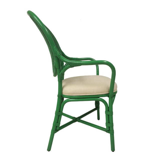 Selamat Designs Parsley Dahlia Arm Chairs - A Pair - Image 5 of 6