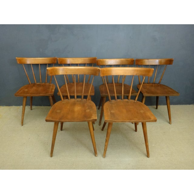 Paul McCobb Mid-Century Dining Chairs - Set of 6 - Image 2 of 6